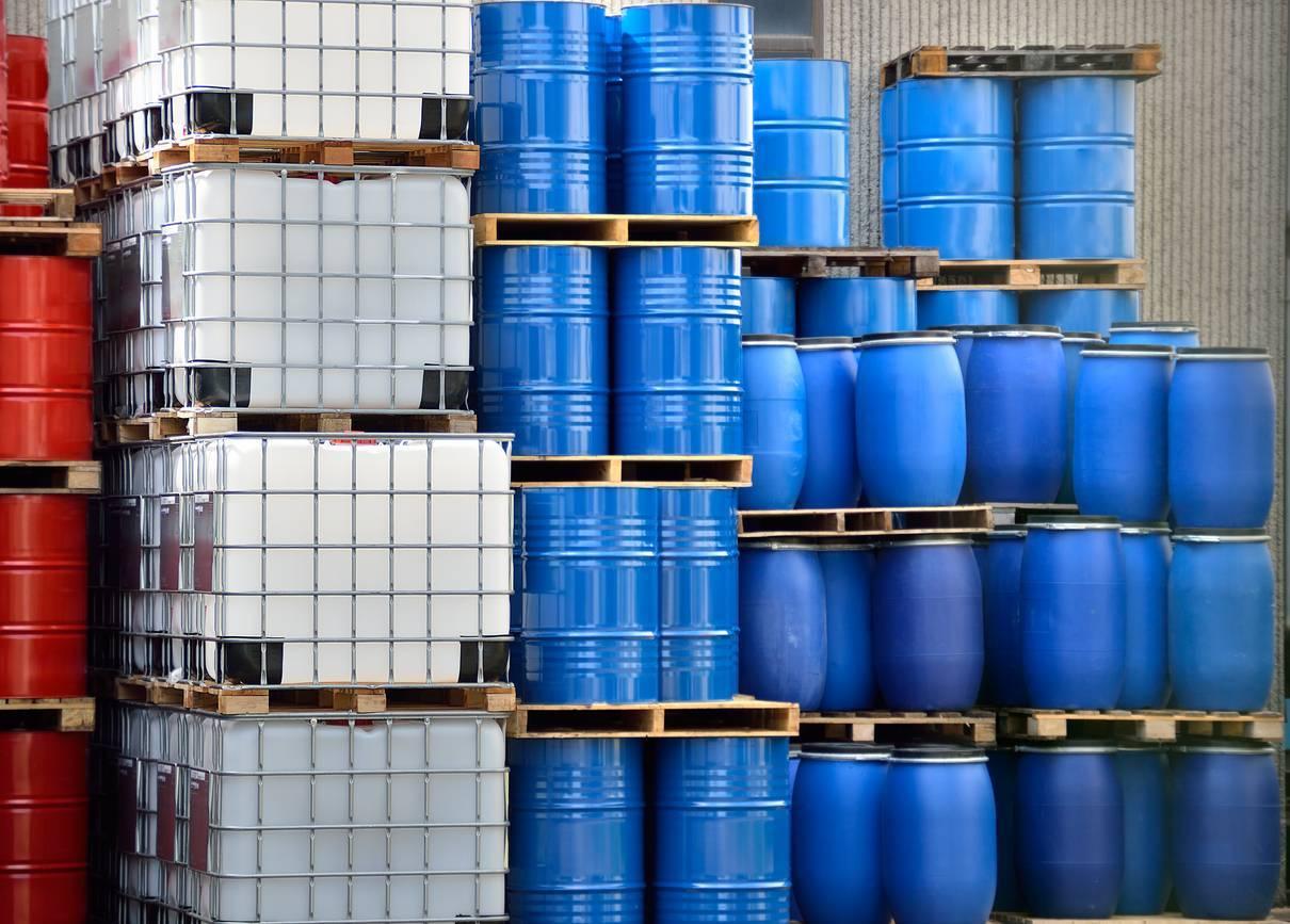 stockage produits industriels