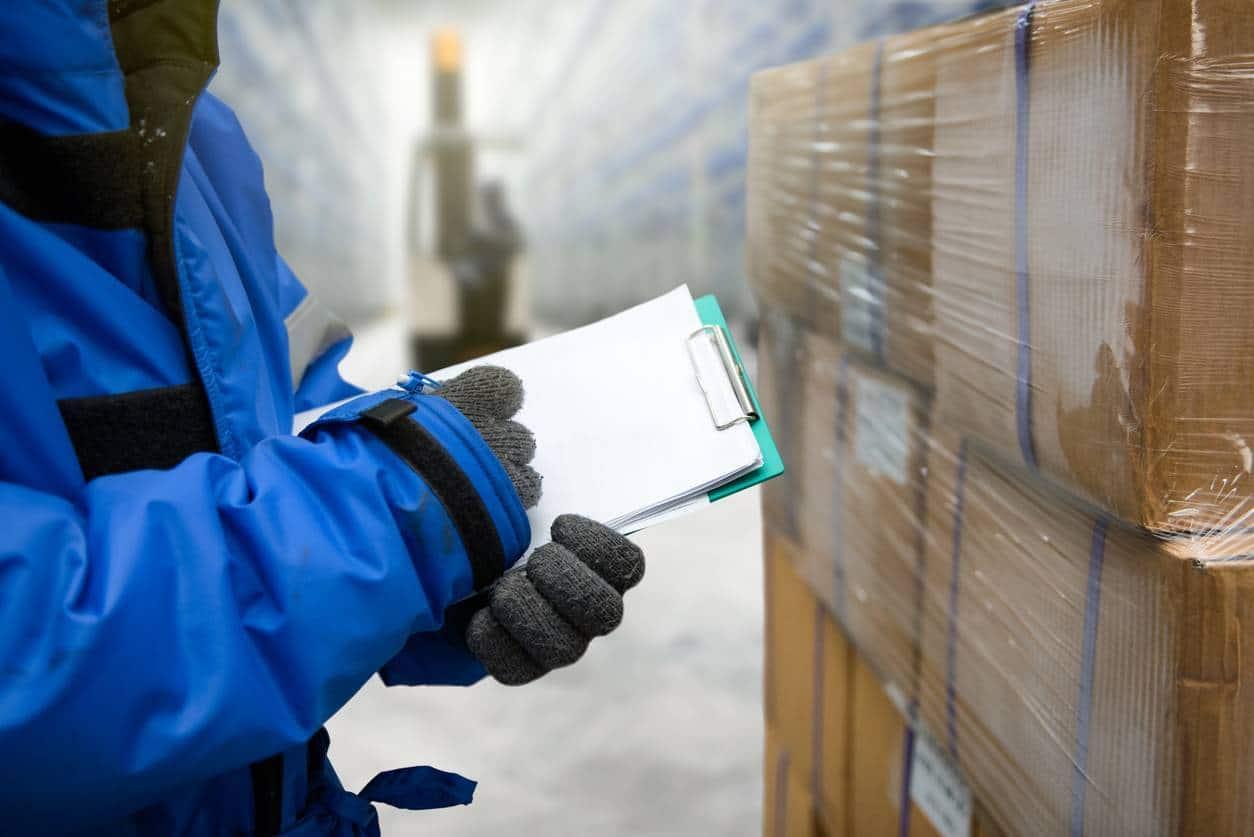transport frigorifique marchandises emballage isotherme